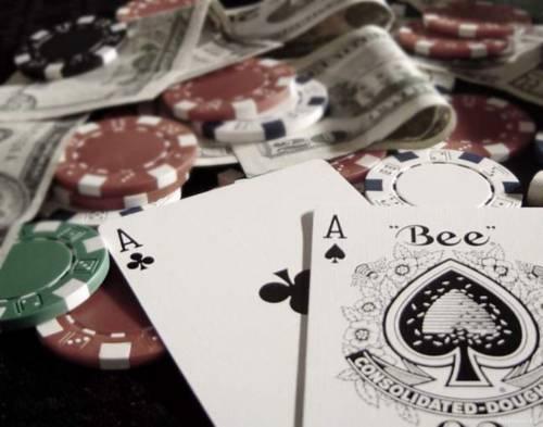 покер фото обои